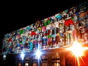 La gare de Paris Saint-Lazare prend des couleurs jusqu'au 22 février