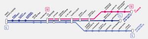 Nouveau plan de ligne L Sud 2015