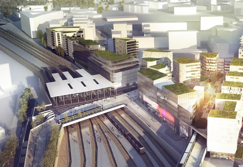 La nouvelle gare de nanterre universit - Piscine nanterre universite ...