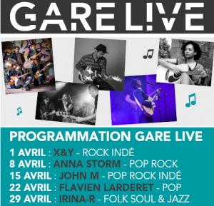 Gare LIVE Avril 2016
