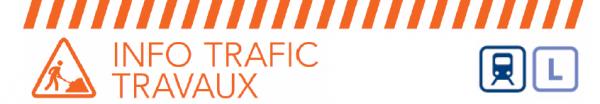 info-trafic travaux ligne L