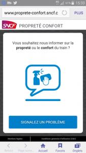 SNCF PROPRETE CONFORT