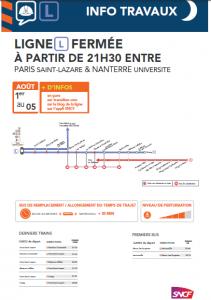 S31 horaires Paris Nanterre U