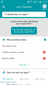 L'application monTransilien déménage 2