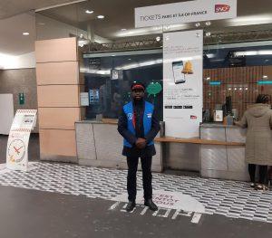 Moussa, manager SNCF à La Défense